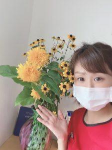 お花のある整骨院です♪
