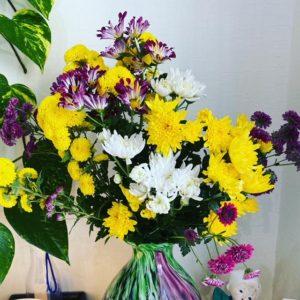 綺麗なお花をいただきました♪