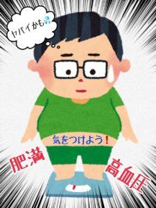 ★肥満と高血圧★